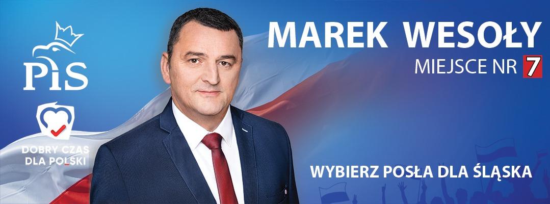 Marek Wesoły – Vice-Przewodniczący Rady Miasta Ruda Śląskaej